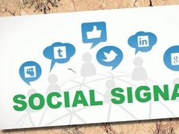 2000 High Quality PR9-PR10 Social Signals Backlink from 2 BEST Social Media website