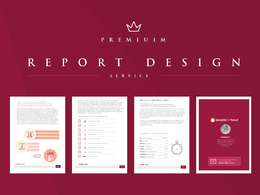 Design annual report, proposal or Financial Report