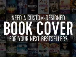 Design full CreateSpace/Ingram book cover for your next bestseller