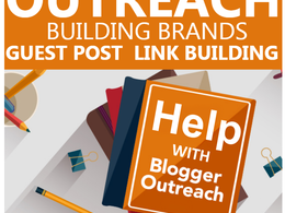 Outreach Link Building - White Hat Manual SEO - DA30+ DOFOLLOW