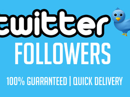Add 4000 Twitter followers to your profile within 24 hours
