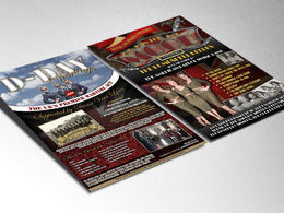 Design you a Stunning, Unique Leaflet, Flyer or Brochure
