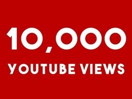 Give 9999+ High RETENTION YOUTUBE Views +100 Likes Guaranteed Splittable in48 -96 hr