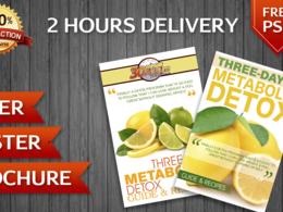 Flyer - Brochure - Poster Design in 2 Hours Guaranteed