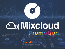 Create an awesome Mixcloud promotion for you