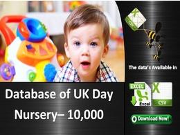 A comprehensive database of UK Day Nursery database