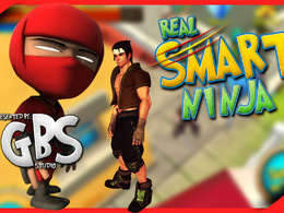 """Unity 3d 100 Levels Missions Ninja Action Game IOS & Android """"Real Smart Ninja"""""""