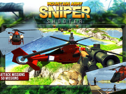"""Unity 3D Action Sniper Game  """"Mountain Army Sniper Shooter"""" IOS & Android"""
