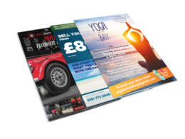 Design a flyer to promote your business
