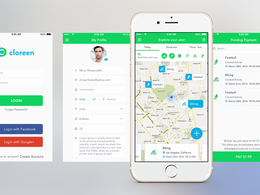 UI/UX Design for Android & IOS App with 5 revisions