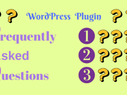 Install FAQ WordPress Plugin