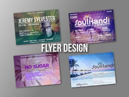 Design Your Flyer, Poster or Leaflet - 100% PPH Level 5 Certified