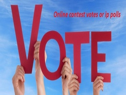I manage 200 real votes on your online voting contest