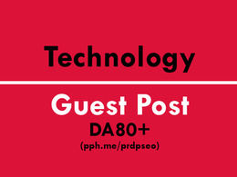 Guest Post on Technology Website DA60+ with Do-Follow Link