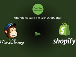 Integrate mailchimp to your Shopify store.