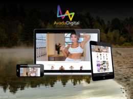 Avada Agency's header
