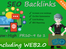 Provide 100 do-follow PR 5-9 backlinks