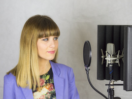 Professionally sing your song at my studio