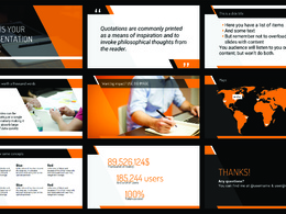 Create or redesign a PowerPoint Presentation(Editable)