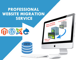 Transfer migrate and restore any cms or WordPress website backup