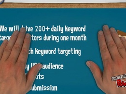 Drive highly targeted traffic visitors to your website