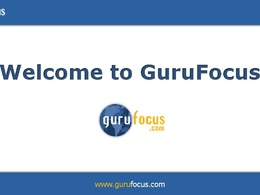 Publish a Guest Post on Gurufocus.com [Finance Website: DA 67, PA 72]