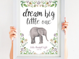 Design a typographic A4 personalised word art print for any occasion