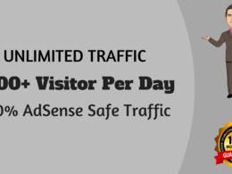 Drive 10,000+ Real Traffic  ☑ ☑ ☑100% AdSesnse Safe ☑ ☑ ☑ Money Back Guarantee ☑☑☑