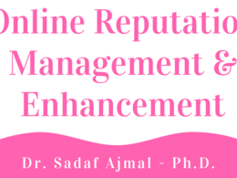 Offer Reputation Management and Enhancement consulatancy