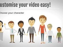 Create a professional animated explainer/promo video