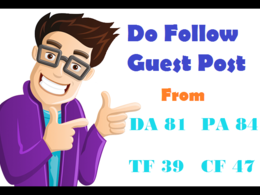 Publish Guest Post on Da 87 website with PR 7