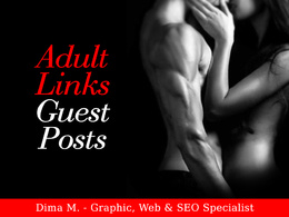Publish 10 post on 10 Different Adult Websites with DA17+