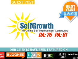 Guest post on SelfGrowth.com | SelfGrowth DA76 PA81