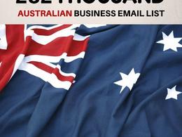 Australia Business Database 282k Email List and full details