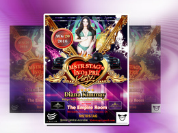 Design any flyer or poster within 24 hour