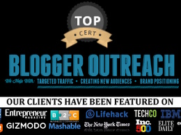 Very HQ guest posts : Write and Guest Post in your Niche - Real Sites, Real Outreach