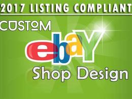 Create custom BESPOKE RESPONSIVE design for your eBay store