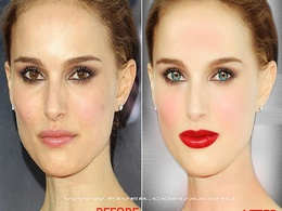 Professionally retouch your photo, Edit image