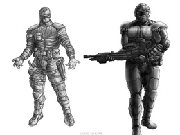 Design Original Character - Scifi, Fantasy, Superhero, Cartoon