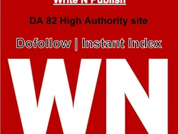 Write & Publish on World News (WN.com) - DA 82, PA 75