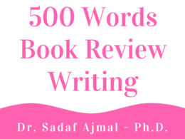 500 Words Book Review Writing