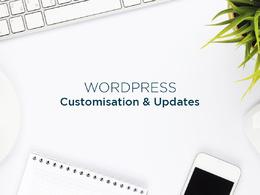 Customise your Wordpress theme