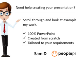Design a high quality PowerPoint presentation