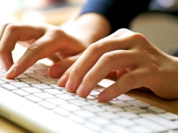 Provide one hour's data entry, database creating, or copy typing