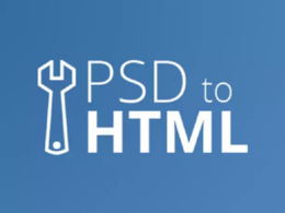 Convert your pdf png or psd into html