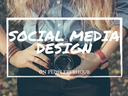 Create one appealing social media header or banner