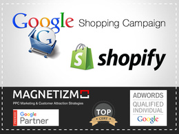 Set up Shopify link to Google Merchant Shopping for 100 products