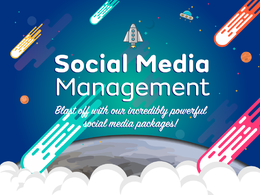 Be your Social Media Manager on a range of platforms.