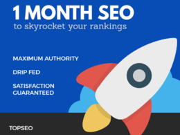 1 Month  SEO,100% White Hat Google Safe 2018 updated