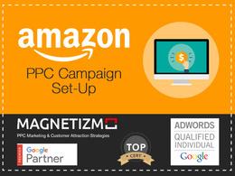 Set up a new Amazon PPC Campaign.
